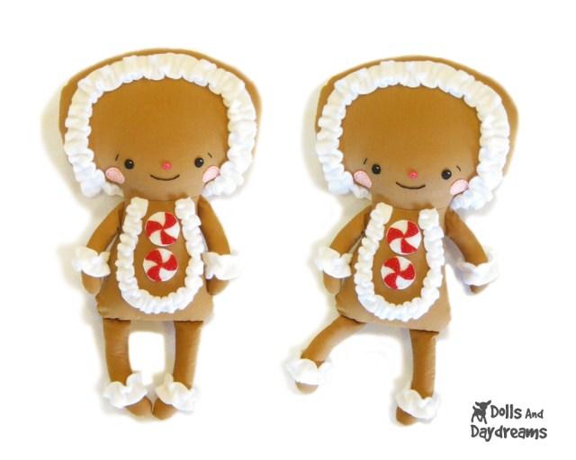 Kawaii Sewing Patterns Christmas Gingerbread Man Cute Kawaii Sewing Pattern Copy Flickr