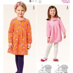 Kids Patterns Sewing Bd9374 Burda Style Pattern 9374 Childs Dress Things To Sew For