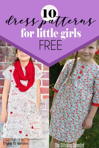 Kids Patterns Sewing Daughters 10 Super Cute Free Girls Dress Patterns And Tutorials Fresh Modern
