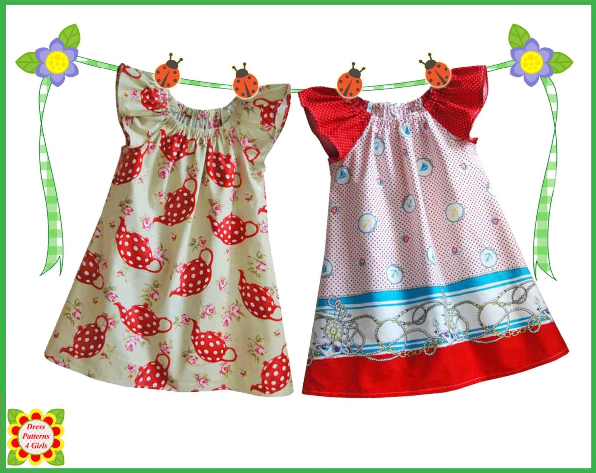 Kids Patterns Sewing Daughters Cecilia Sewing Pattern For Children Free Mother Daughter Etsy