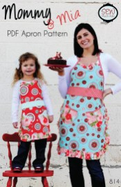 Kids Patterns Sewing Daughters Mommy Mia Apron Pdf Pattern Sew Much Ado