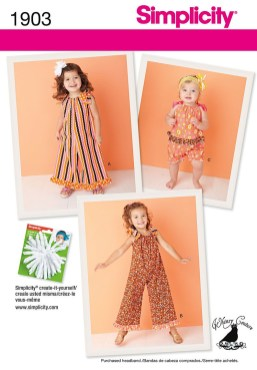 Kids Patterns Sewing Daughters Simplicity 1903 How Cutesmile Now I Just Need A Grand