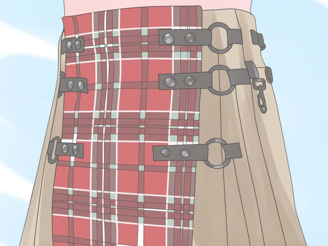 Kilt Sewing Pattern How To Make A Kilt Wikihow