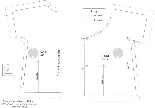 Kimono Sewing Pattern Free Sewing Pattern Soft And Cosy Ba Kimono Sew In Love