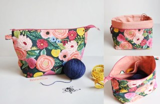 Knitting Bag Sewing Pattern Projects Esme Project Bag Sewing Pattern Indigobird Ideas For The