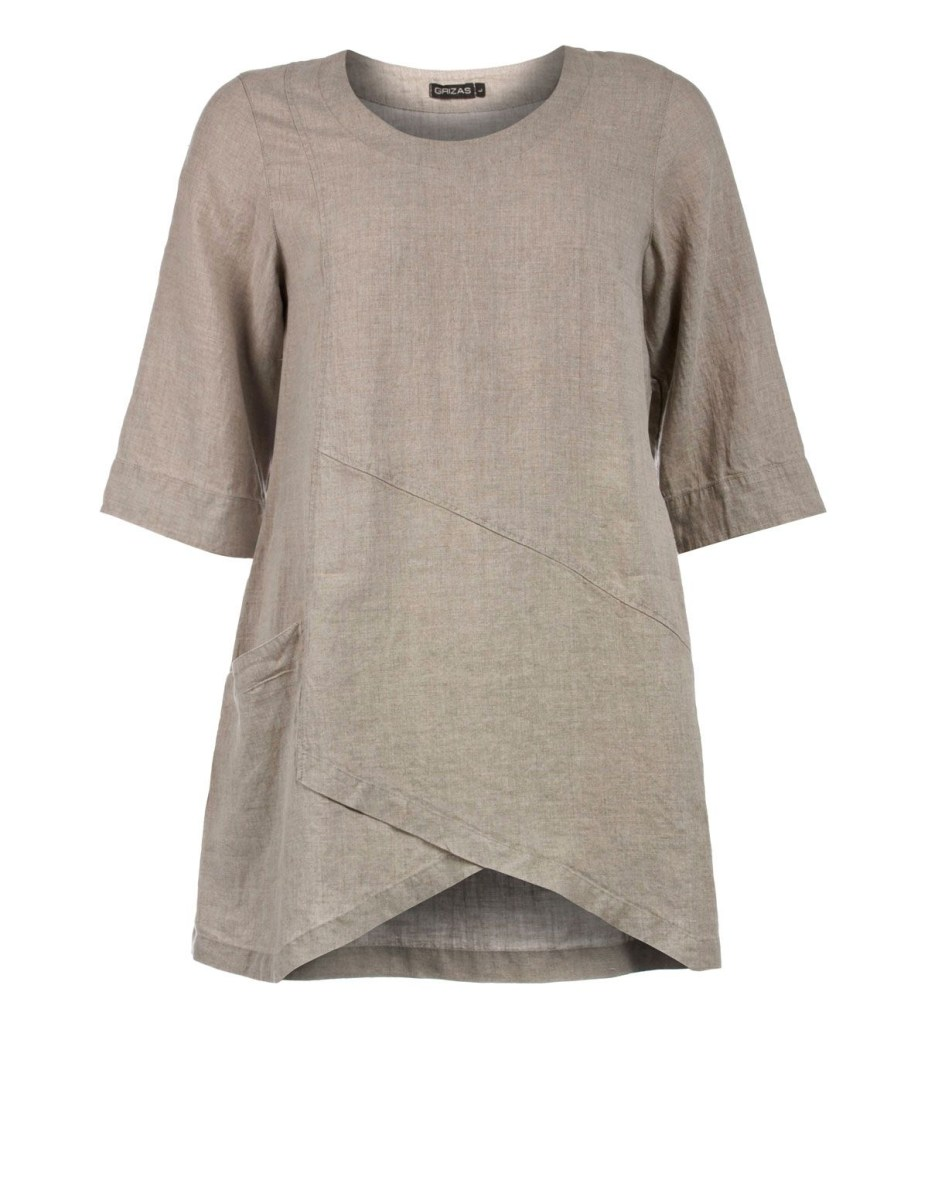 Linen Tunic Sewing Pattern A Line Linen Tunic Grizas Tunics Oh Wouldnt This Be Wonderful