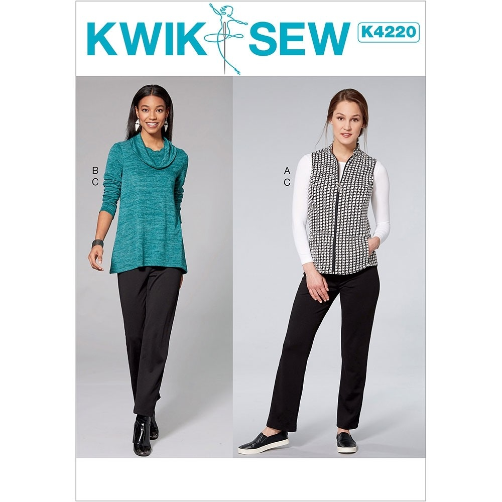 Linen Tunic Sewing Pattern Kwik Sew Womens Tops Sewing Patterns Sew Essential