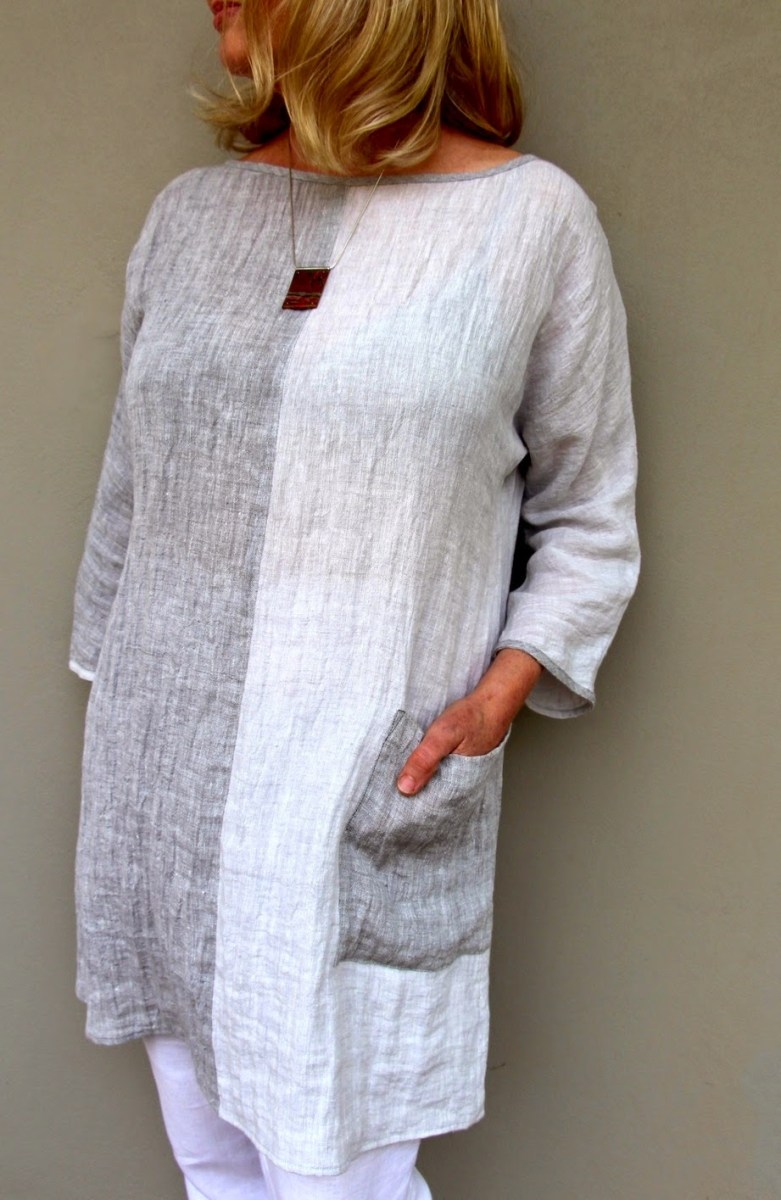Linen Tunic Sewing Pattern Our New Pattern The Ola Tunic Top Sew Tessuti Blog