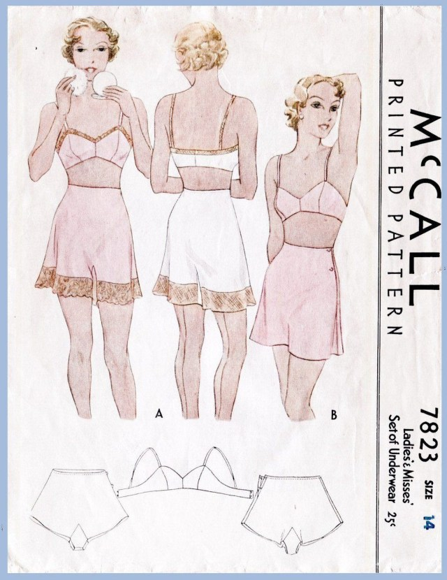 6997a0ea4eed Lingerie Sewing Patterns M 7823 Bust 32 In 2018 Fashion Pinterest Vintage  Sewing