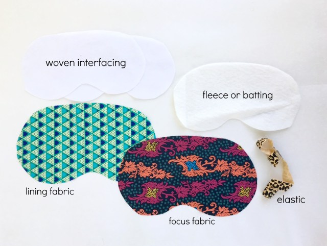 Mask Sewing Pattern Sewhungryhippie How To Sew A Sleep Mask