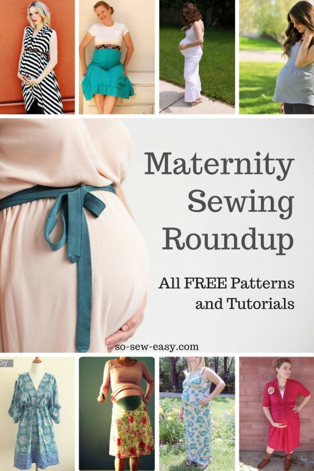 Maternity Sewing Patterns Maternity Sewing Patterns And Tutorials Roundup All Free Sewing