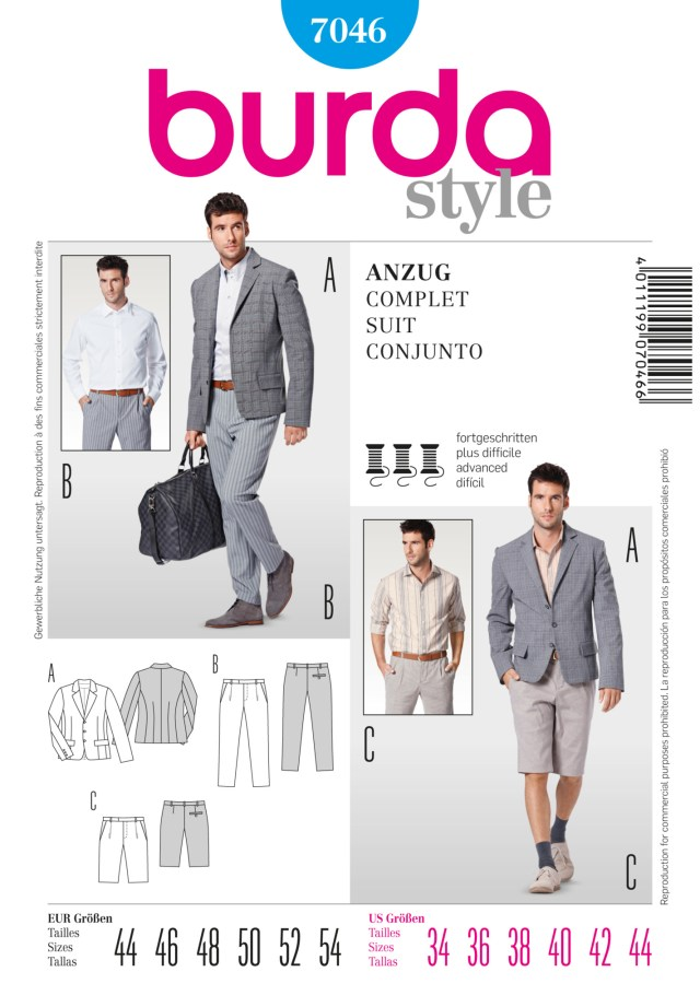 Mens Suit Sewing Patterns Bd7046 Mens Suit Sewing Patterns Men Pinterest Sewing