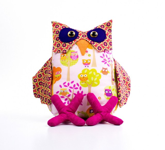 Owl Sewing Pattern Ollie The Laid Back Owl Sewing Pattern Funky Friends Factory