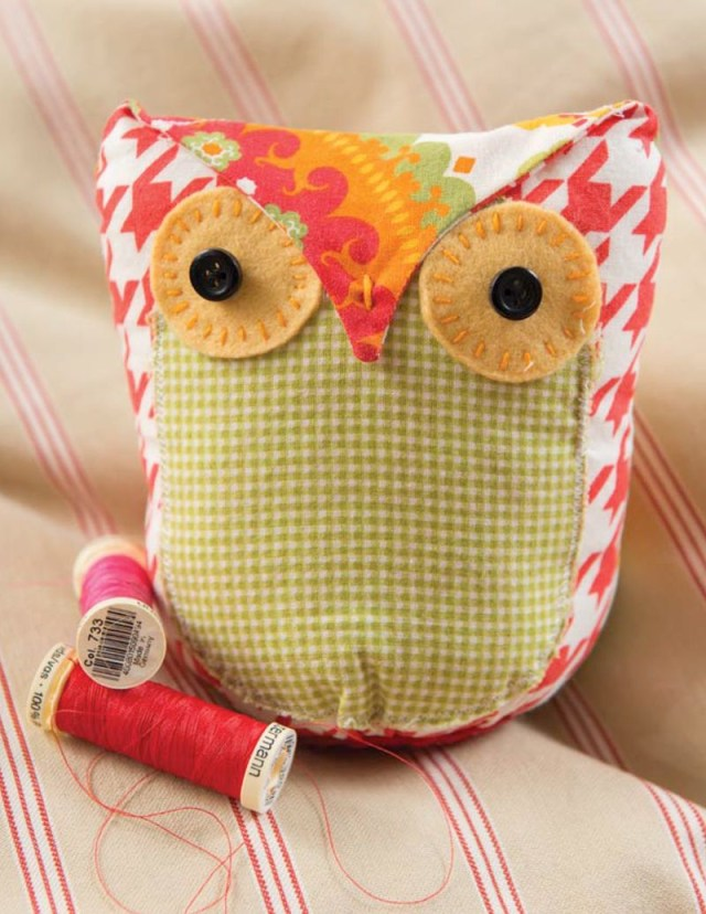 Owl Sewing Pattern Owl Free Pattern Tutorial Quilts To Make Pinterest Sewing