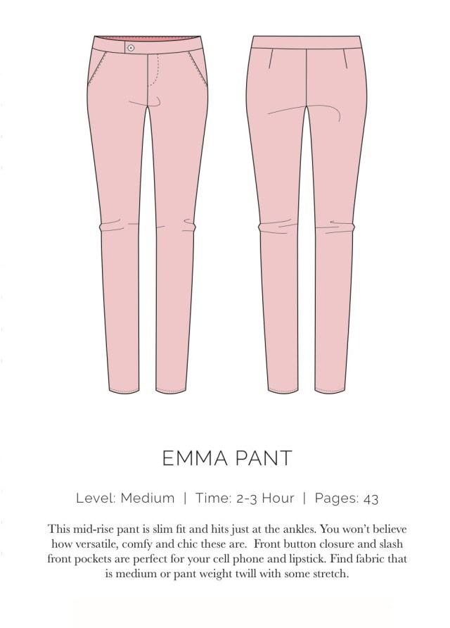 Pants Sewing Pattern Spit Up Stilettos Free Pattern Emma Pant Sewing Patterns