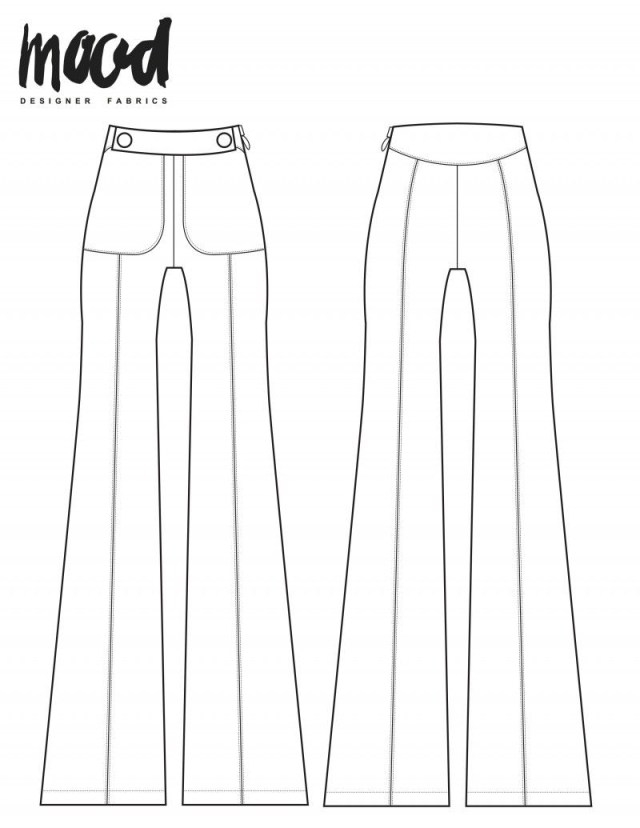 Pants Sewing Pattern The Ash Pants Free Pants Sewing Pattern Mood Sewciety