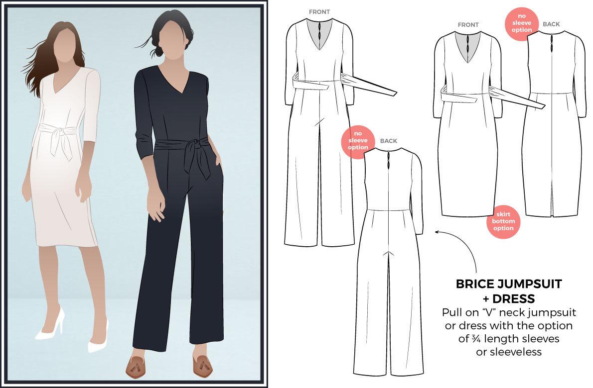 Pattern Design Sewing Dresses Magazine Style Arc