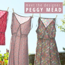 Pattern Design Sewing Dresses Meet The Designer Peggy Mead