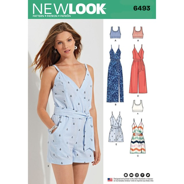 Playsuit Pattern Sewing Jumpsuits Sewing Patterns Sew Essential