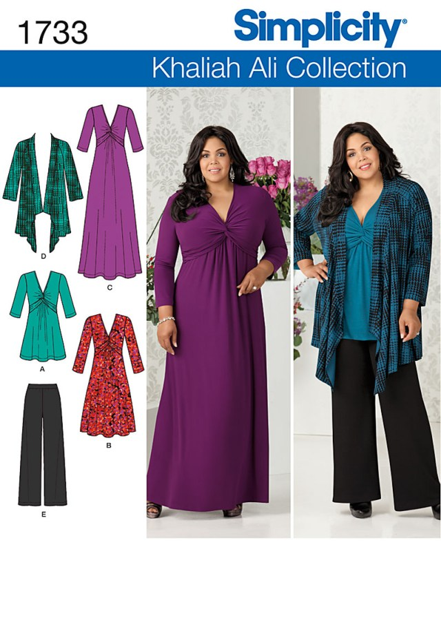 Plus Size Sewing Patterns Plus Size Dresses Patterns Womens Style