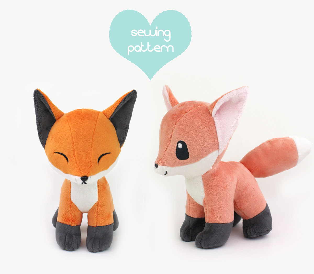 Pokemon Sewing Patterns Pdf Sewing Pattern Ba Fox Stuffed Animal With Video Etsy