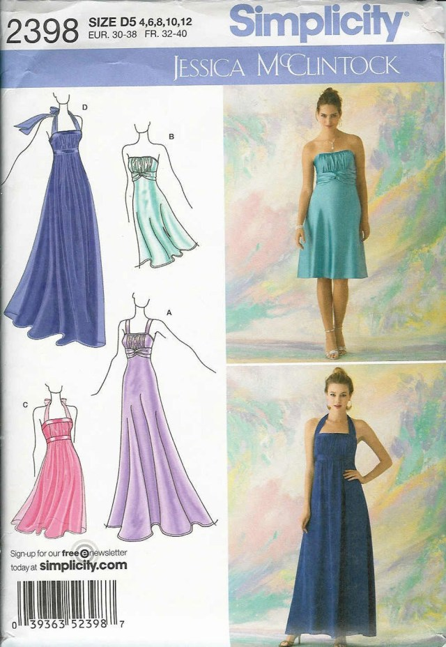 Prom Dress Sewing Patterns Halter Top Prom Dress Sewing Patterns Marryking