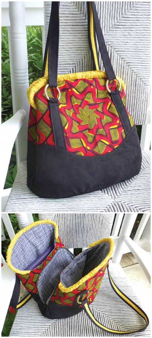 Purse Patterns To Sew Triple Play Handbag Sewing Pattern Sewing Bags Wallets Such