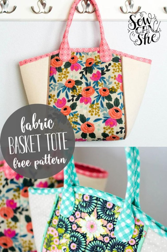 Purse Sewing Patterns Diy Basket Tote Free Sewing Pattern Clutches Bags Purses