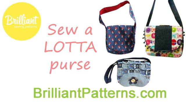Purse Sewing Patterns Purse Sewing Tutorial For Beginners Lotta Brilliant Patterns