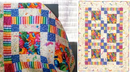 Quilting Patterns Easy A Simple Ba Quilt Patternfree Stitch This The Martingale Blog