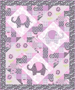 Quilting Patterns Free Templates Free Pattern Elephant Pop Quilt Including Elephant Templates For