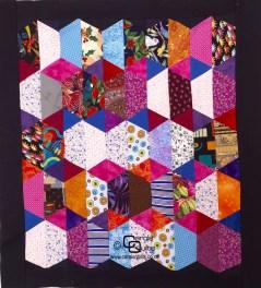 Quilting Patterns Free Templates Hexagon Template Set Of Half Hexagons Carols Quilts