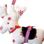 Reindeer Sewing Pattern Free Reindeer Gift Bag Stocking Patterns Sew Mama Sew