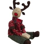 Reindeer Sewing Pattern Ruben Reindeer Soft Toy Digital Sewing Pattern For Download Pcbangles