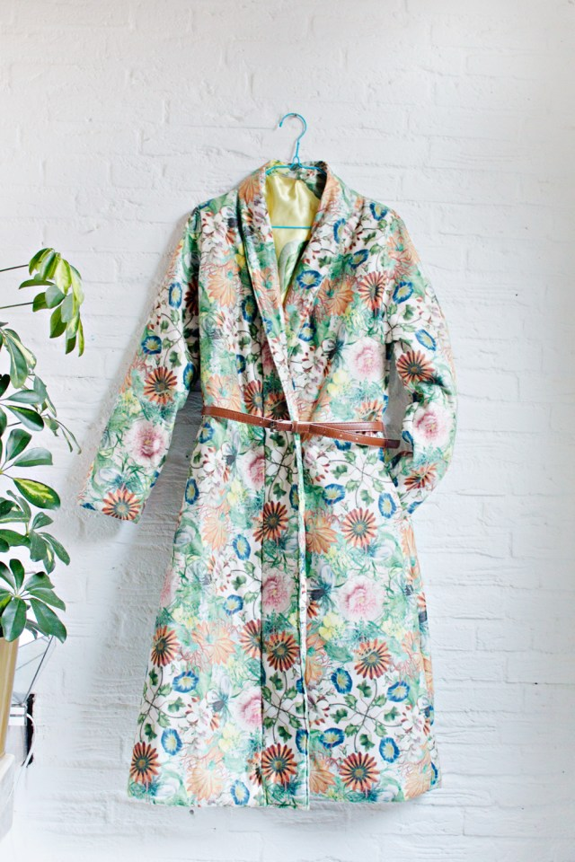 Robe Sewing Pattern Sewing Diy How To Make A Robe Coat In 30 Steps Without A Sewing