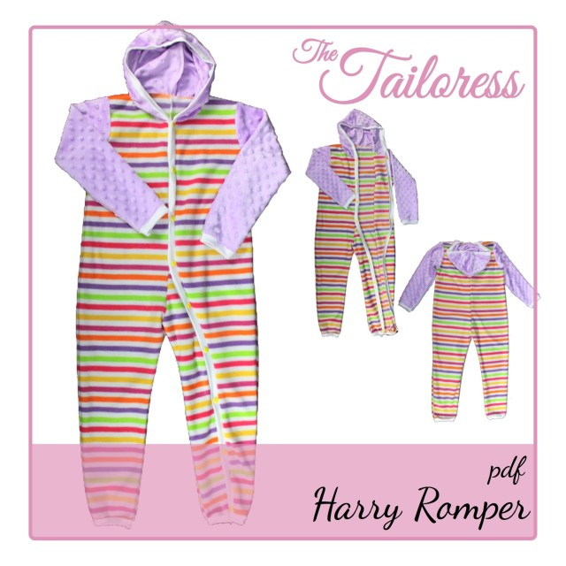 Romper Sewing Pattern Harry Romper Adaptive Clothing All In One For Children Pdf Sewing