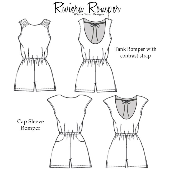 Romper Sewing Pattern Spoonflower Organic Cotton Knit Ultra Fabric Review So Sew Fun