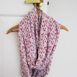 Scarf Sewing Pattern Infinity Scarf Sewing Tutorial