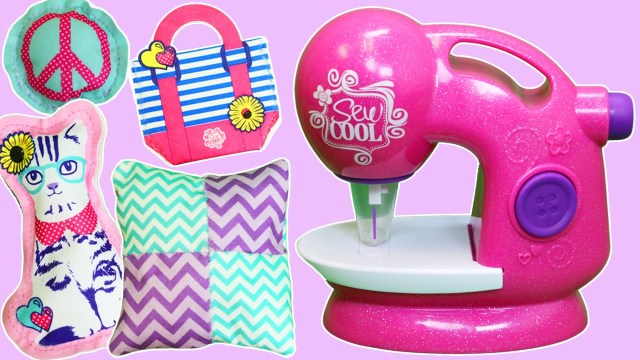 Sew Cool Patterns Sew Cool Glitter Design Deluxe Sewing Studio Playset Part 2 Learn
