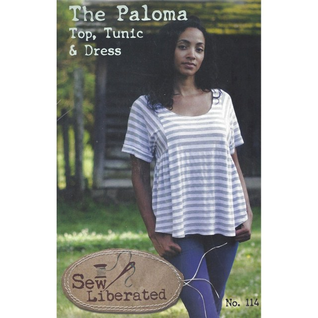 Sew Liberated Patterns Paloma Top Tunic And Dress Sew Liberated Sewing Pattern Size Xs Xl