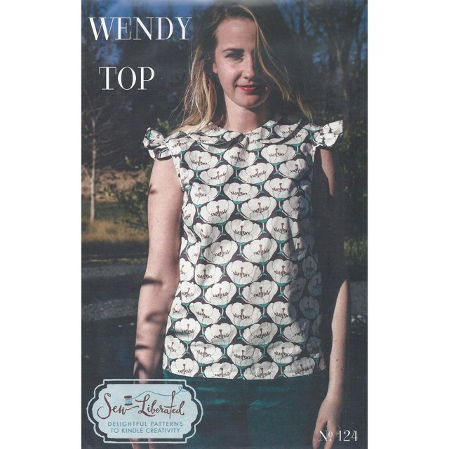 Sew Liberated Patterns Wendy Top Sew Liberated Sewing Pattern Size 2 20