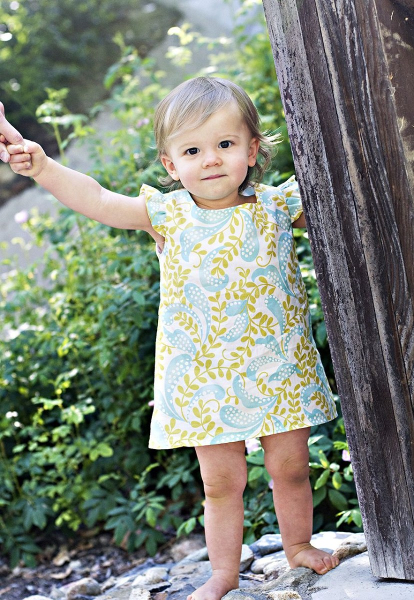 Sew Sweet Patterns Elsie Dress Pdf Sewing Pattern Tutorial Patterns For Girls