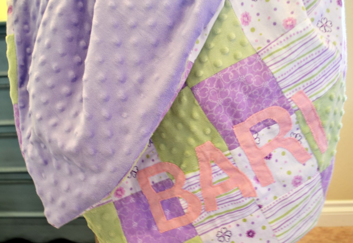Sewing Blankets Ideas Easy Diy Ba Gift How To Make A Ba Blanket Miss Bizi Bee