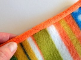 Sewing Blankets Ideas Fleece Binding Sewing Tutorial You Make It Simple