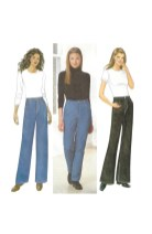 Sewing Pattern Easy Butterick 6437 Sewing Pattern Easy Tapered Straight Or Boot Etsy