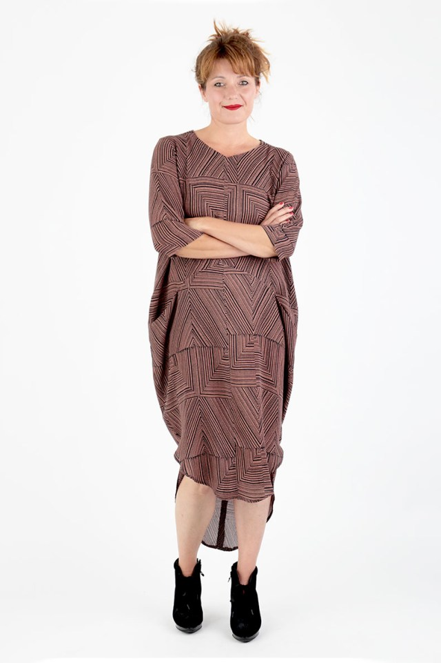 Sewing Pattern Easy Sewing Pattern For A Cocoon Dress Easy To Sew And Beautiful