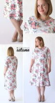 Sewing Pattern Easy The Easy Tee Swing Dress Simple Sewing Tutorial Its Always Autumn