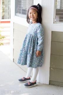 Sewing Pattern For Girl Free Dress Pattern Girls Sweet Rose Dress Life Sew Savory