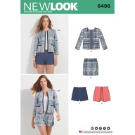 Sewing Pattern Womens Coat New Look Womens Jackets And Coats Sewing Patterns Sew Essential