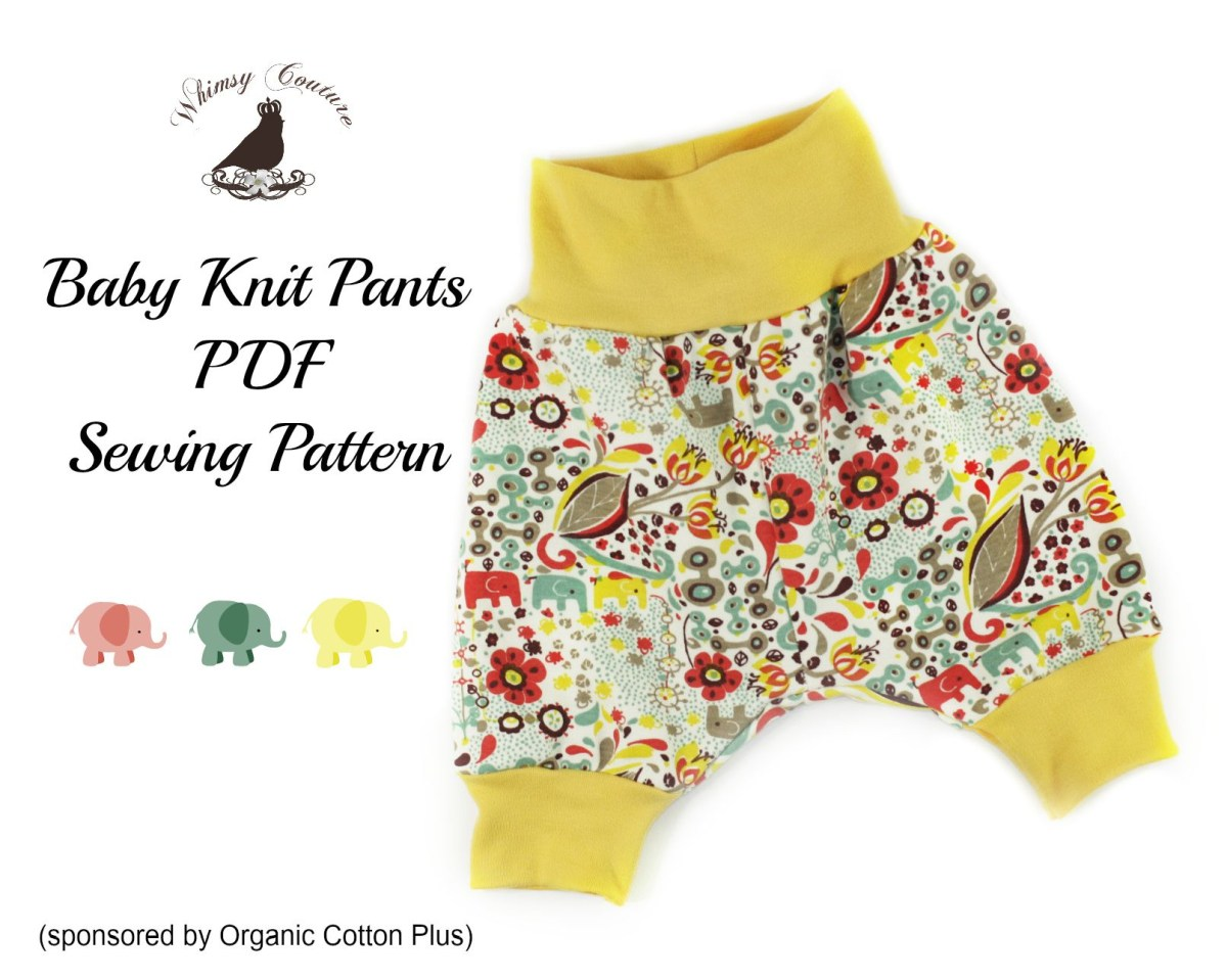 Sewing Patterns For Babies Free Pdf Sewing Pattern For Ba Knit Pants Sewing Pinterest